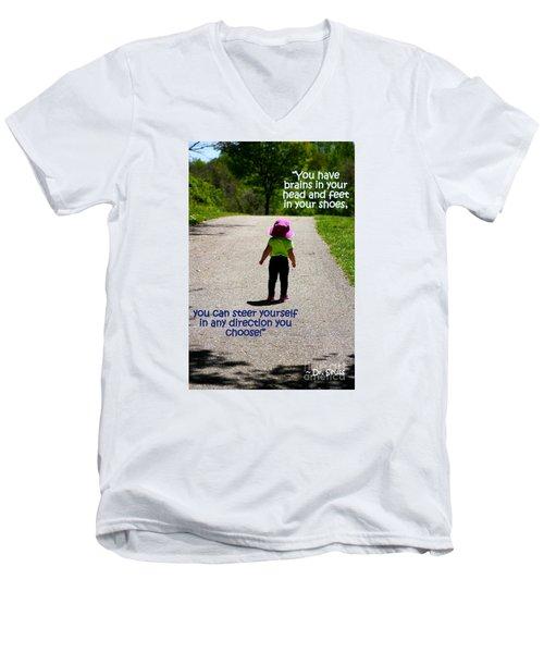 Momentary Freedom Men's V-Neck T-Shirt