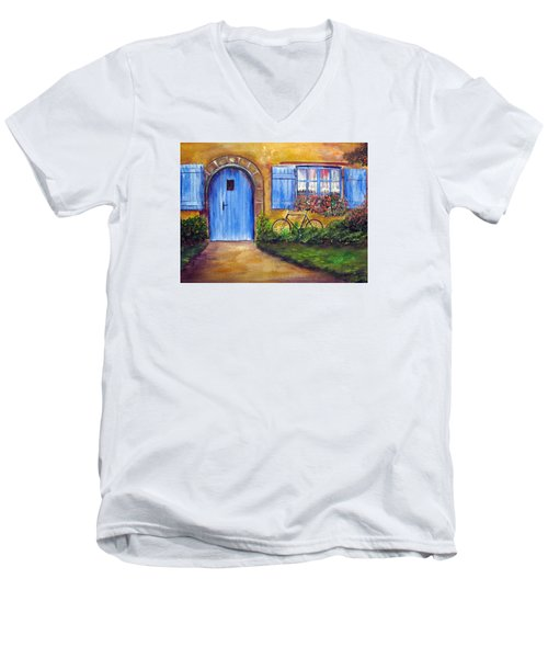 French Cottage Men's V-Neck T-Shirt