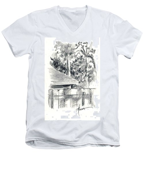 From The Breakfast Room Window Men's V-Neck T-Shirt