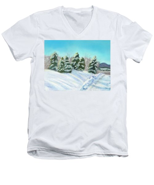 Frozen Sunshine Men's V-Neck T-Shirt