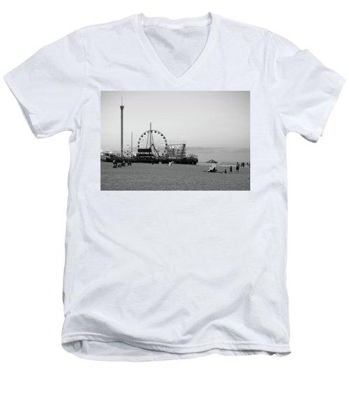 Funtown Pier - Jersey Shore Men's V-Neck T-Shirt