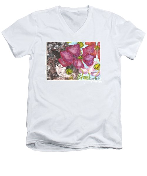 Garden Nap Men's V-Neck T-Shirt