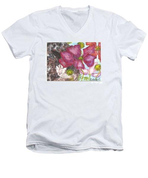 Garden Nap Men's V-Neck T-Shirt