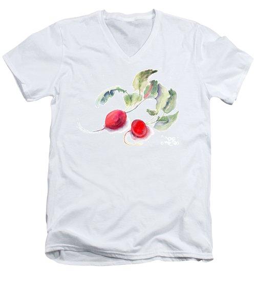 Garden Radish Men's V-Neck T-Shirt
