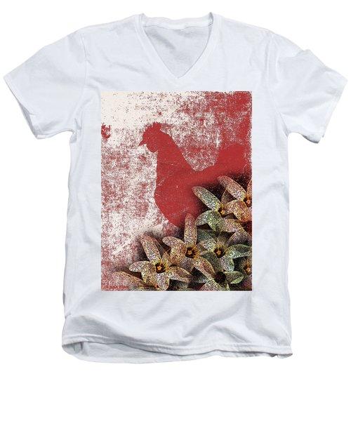 Garden Rooster Men's V-Neck T-Shirt