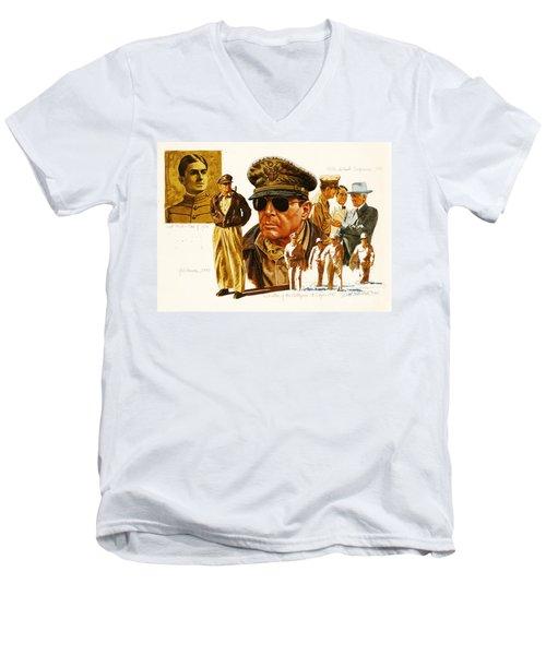 General Macarthur Men's V-Neck T-Shirt