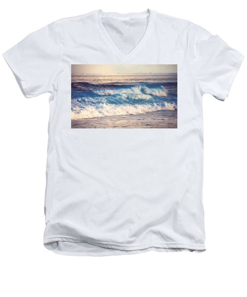 Gentle Light  Men's V-Neck T-Shirt