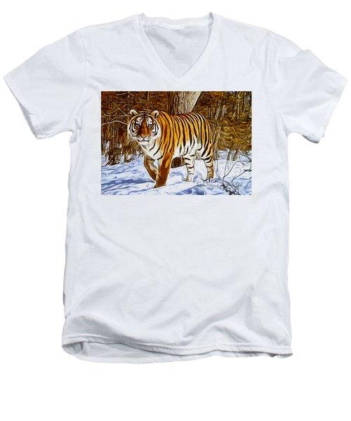 Gently Great Men's V-Neck T-Shirt