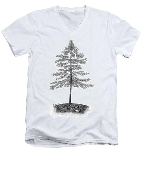 Georgian Bay  Men's V-Neck T-Shirt