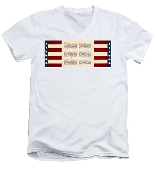 Gettysburg Address Men's V-Neck T-Shirt