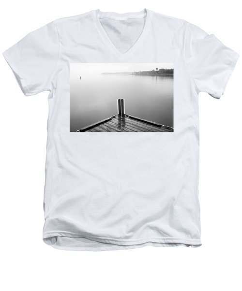 Men's V-Neck T-Shirt featuring the photograph Ghost by Brian Duram