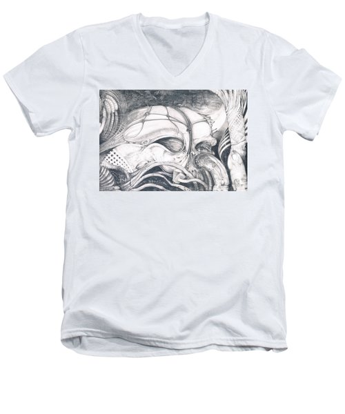 Ghost In The Machine Men's V-Neck T-Shirt