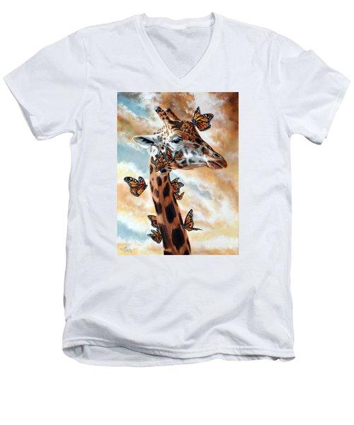 Fleeting Men's V-Neck T-Shirt