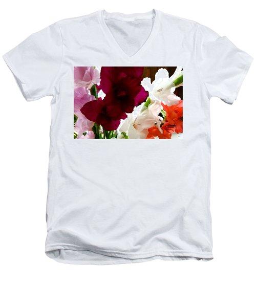 Glad Time Men's V-Neck T-Shirt