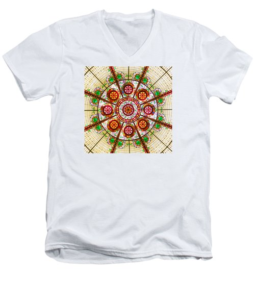 Glass Dome Men's V-Neck T-Shirt