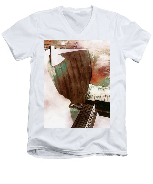Glen Canyon Dam Men's V-Neck T-Shirt
