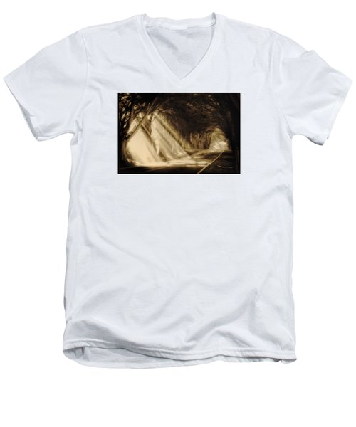 Glory Rays Men's V-Neck T-Shirt
