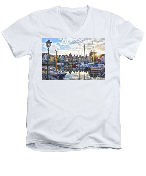 Goes Harbour Men's V-Neck T-Shirt