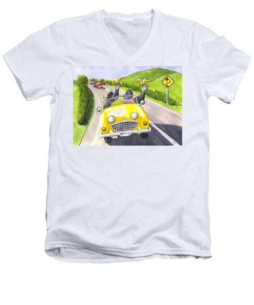 Going Bananas Men's V-Neck T-Shirt