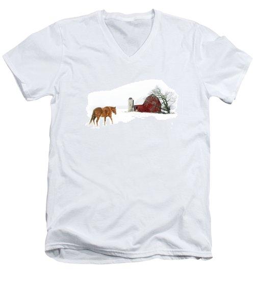 Going Home Men's V-Neck T-Shirt