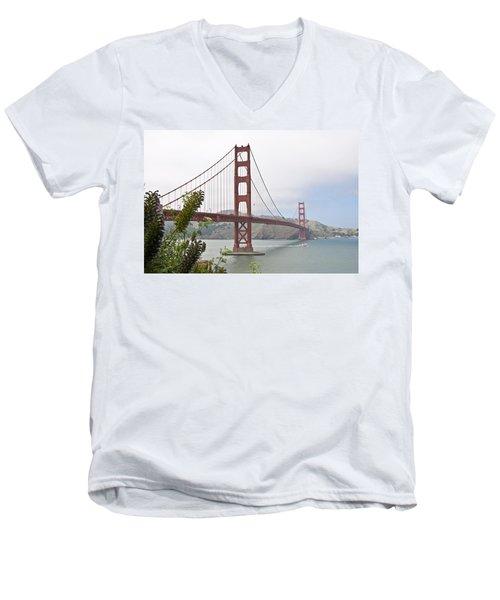 Golden Gate Bridge 3 Men's V-Neck T-Shirt