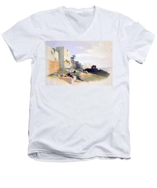 Golden Gate Of The Temple Men's V-Neck T-Shirt