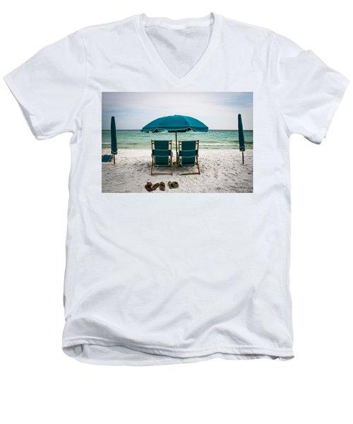 Gone Swimming Men's V-Neck T-Shirt