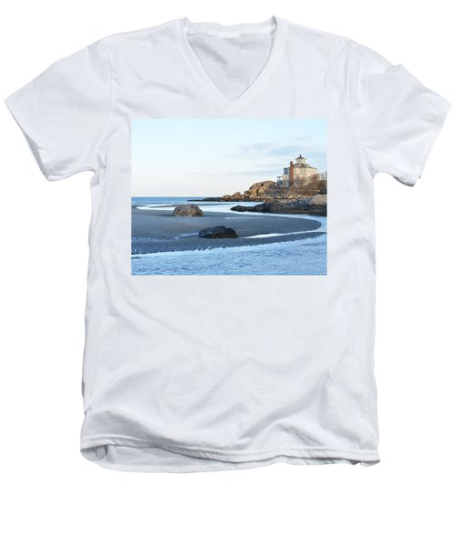 Good Harbor Beach Men's V-Neck T-Shirt