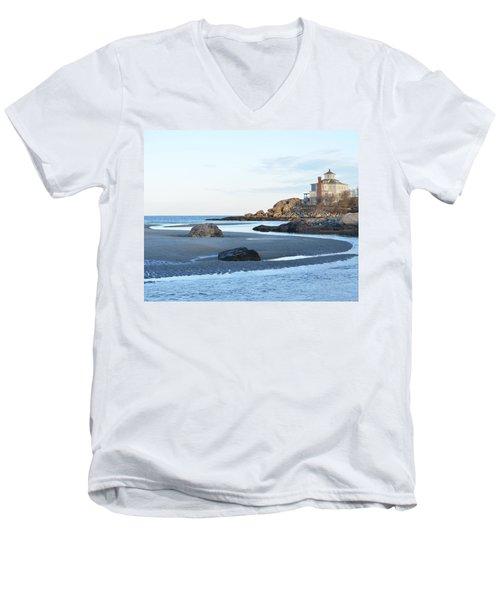 Good Harbor Beach Men's V-Neck T-Shirt