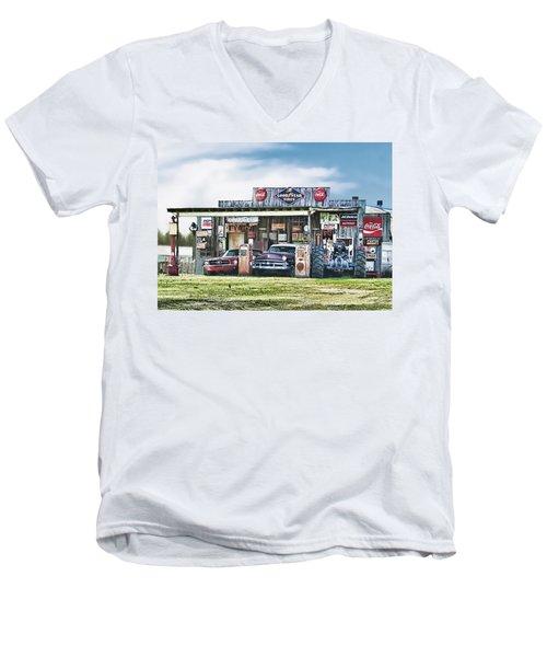 Good Times Not Forgotten Men's V-Neck T-Shirt
