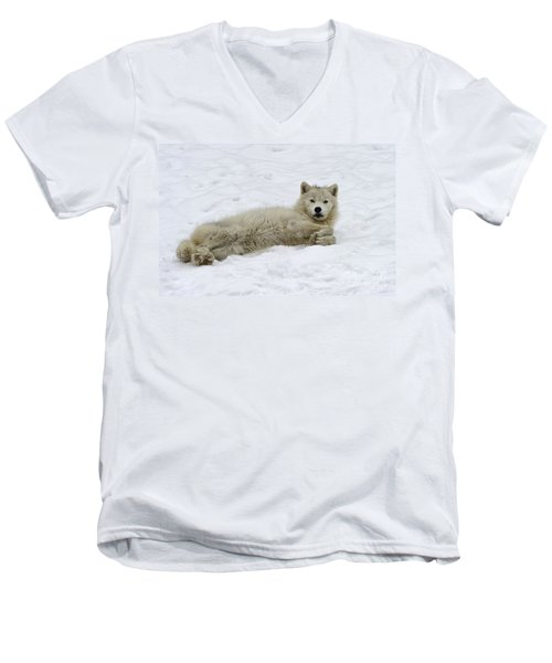 Good Wolfie ... Men's V-Neck T-Shirt