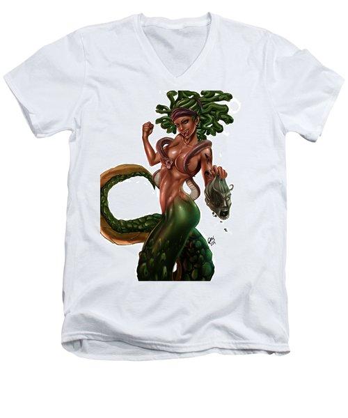 Gorgon Men's V-Neck T-Shirt