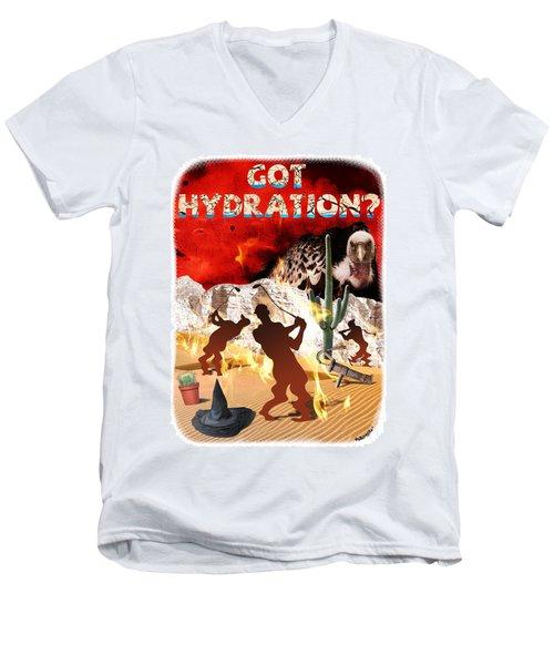 Got Hydration? Men's V-Neck T-Shirt