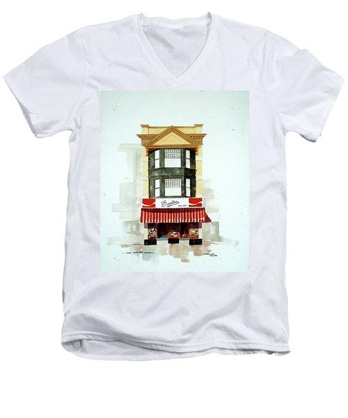 Govatos' Candy Store Men's V-Neck T-Shirt
