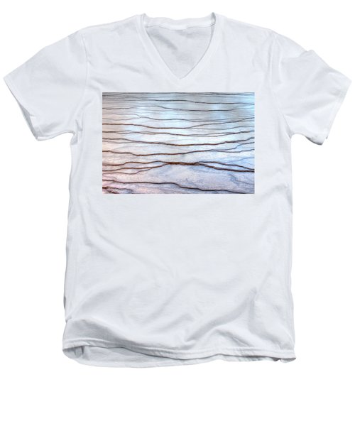 Gradations Men's V-Neck T-Shirt by David Andersen