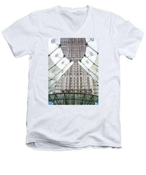 Grand Arche  Men's V-Neck T-Shirt