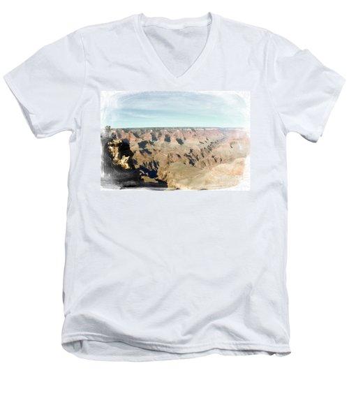 Grand Canyon Softness Men's V-Neck T-Shirt