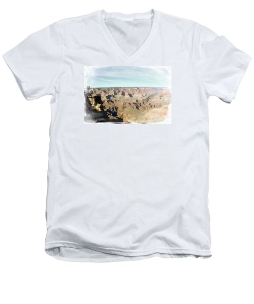 Grand Canyon Softness Men's V-Neck T-Shirt