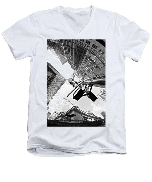 Grand Central America Men's V-Neck T-Shirt