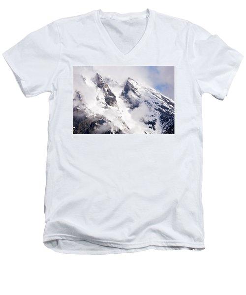 Grand Teton Glacier Men's V-Neck T-Shirt