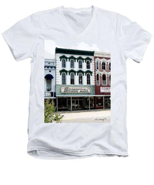 Grapevine Antiques Men's V-Neck T-Shirt