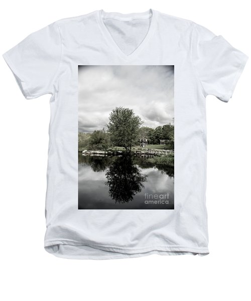 Grays Mill Pond Men's V-Neck T-Shirt