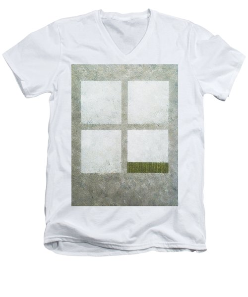Green Painting 1 Men's V-Neck T-Shirt
