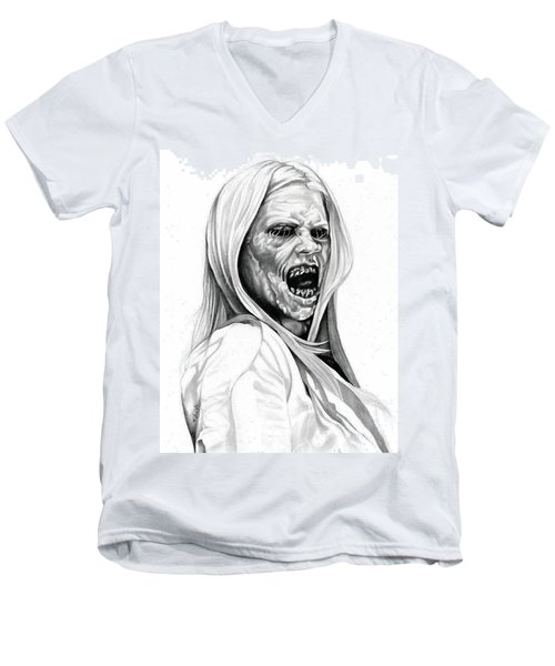 Grimm Hexenbiest Men's V-Neck T-Shirt by Fred Larucci