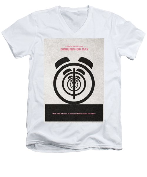 Groundhog Day Men's V-Neck T-Shirt