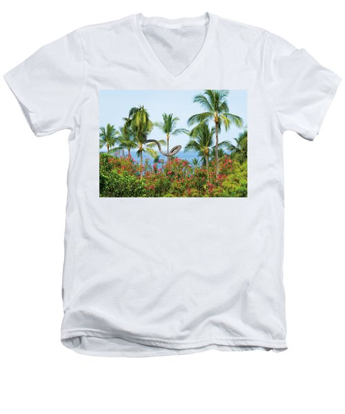 Grow Your Own Way Men's V-Neck T-Shirt by Denise Bird