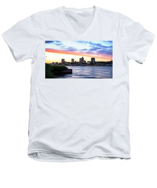 Hamburg Riverside Men's V-Neck T-Shirt