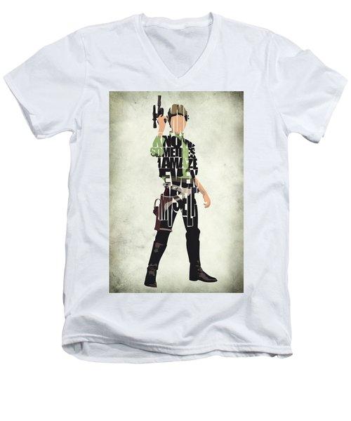 Han Solo Vol 2 - Star Wars Men's V-Neck T-Shirt
