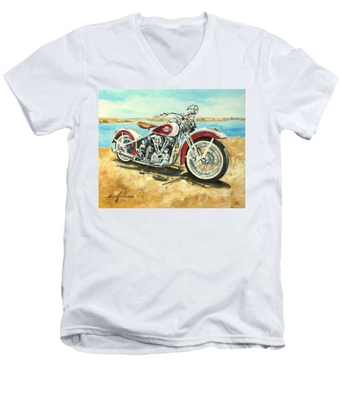 Harley Davidson 1960 Men's V-Neck T-Shirt