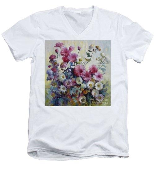 Harmonies Of Autumn Men's V-Neck T-Shirt